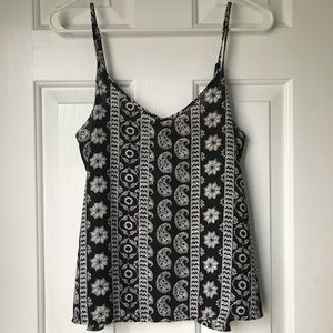 Hollister Patterned Tank Top